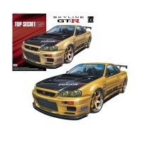 Сборная модель Nissan Skyline GT-R `02 Top Secret BNR34 05304