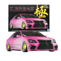 Сборная модель Aoshima Toyota Crown K-break Hyper Zero Custom Ver.2 01168