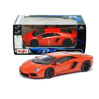 Коллекционная модель Maisto Lamborghini Aventador LP700-4 Hard Top Orange 43047