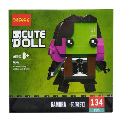 Конструктор Decool Cute Doll Marvel Гамора 6842