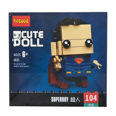 Конструктор Decool Cute Doll DC Супермен 6835